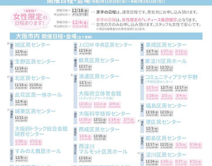 【協会けんぽ特定健診】集団健診について